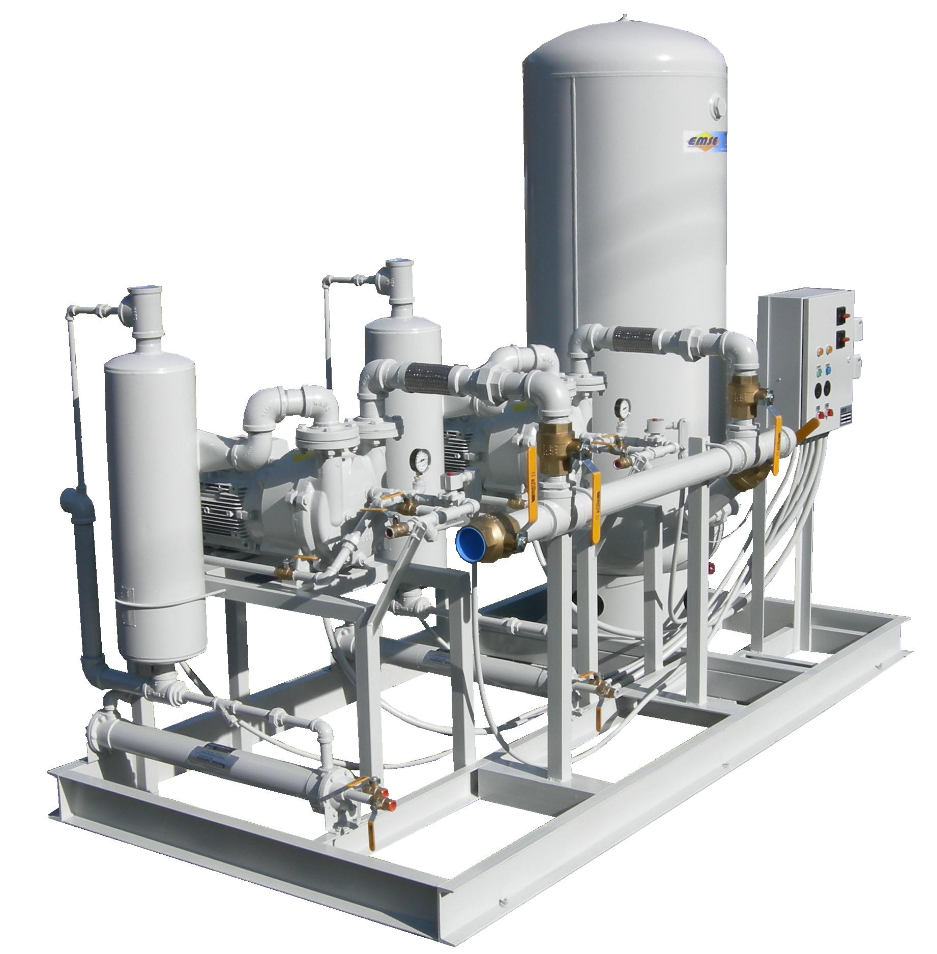 Vacuum Pump System Design : Medical vacuum systems and pumps emse corporation